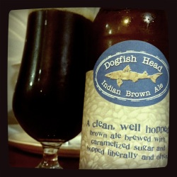 Dogfish Head Brewery Indian Brown Ale