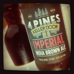 4 Pines Keller Door Imperial India Brown Ale