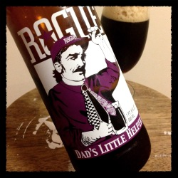 Rogue Ales - Dad's Little Helper Black IPA